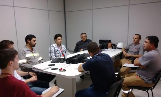 Reunião grupo de Apoio Caxias e RGE