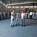 Edvaldo Santos Neto -  Promovido a Eletricista LIG/COR II