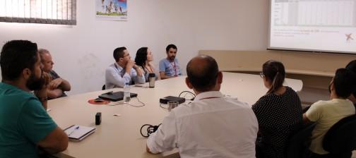 Reunião de Gerenciamento de Segurnça Saúde e Meio Ambiente Sirtec RS