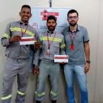 Sérgio Santos da Silva e Irlândio Souza de Almeida - Promovidos a Eletricista RDII