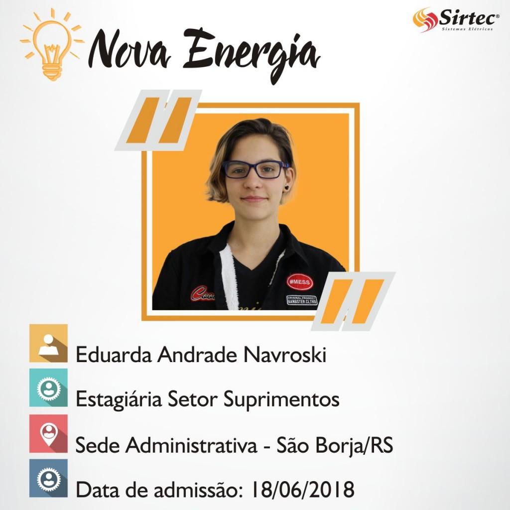 Nova Energia - Eduarda