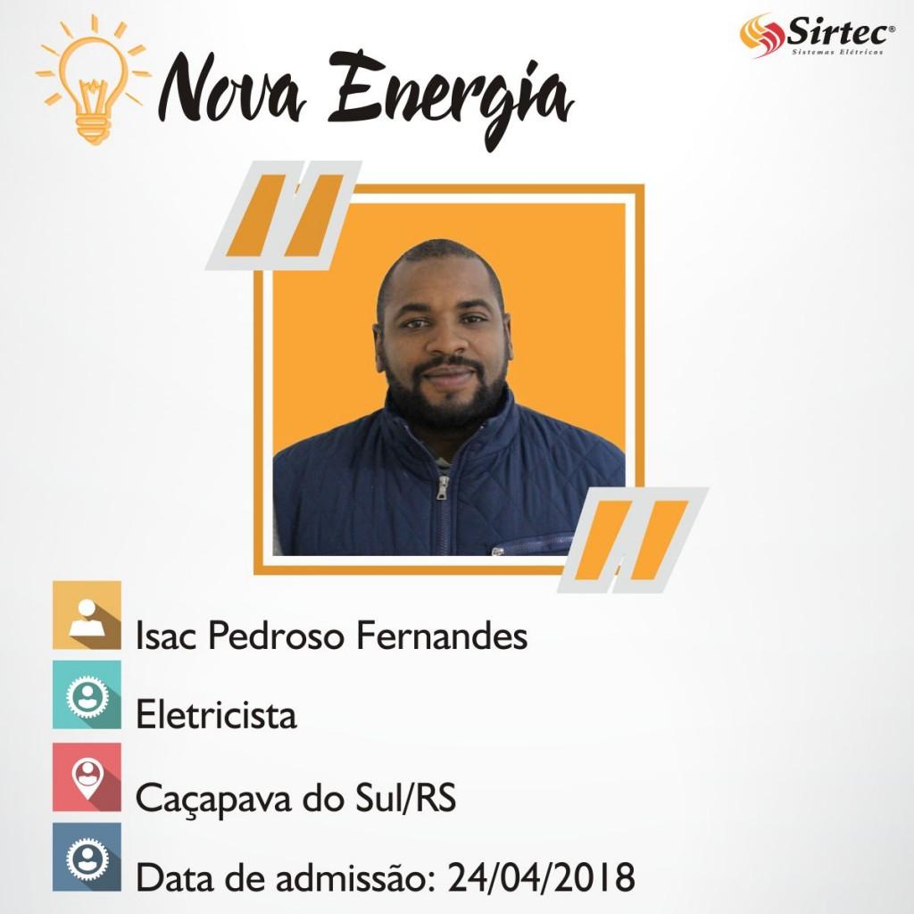 Nova Energia - Isac