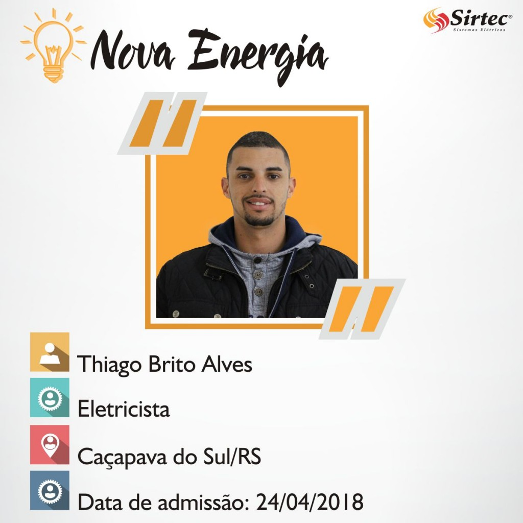 Nova Energia - Thiago