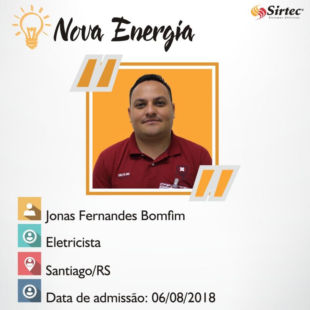 Nova Energia - Jonas