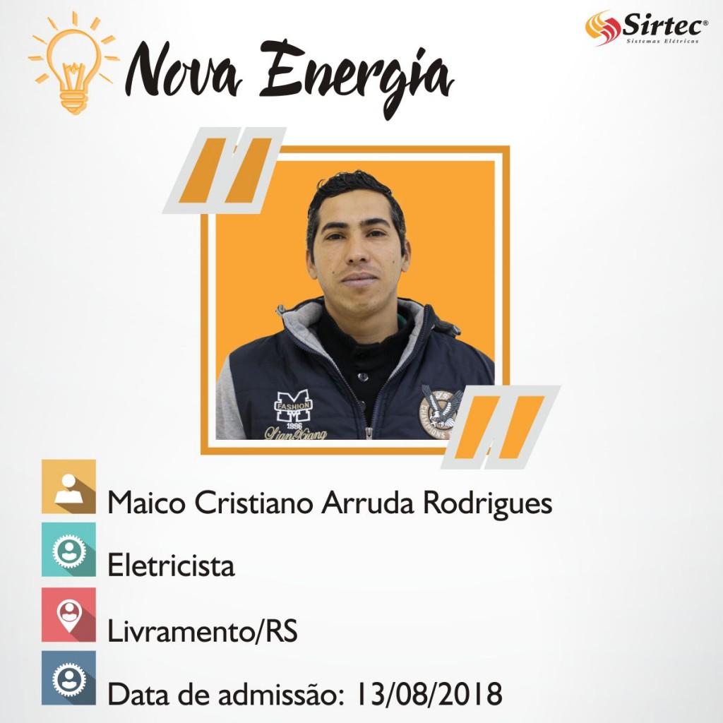 Nova Energia - Maico Cristiano