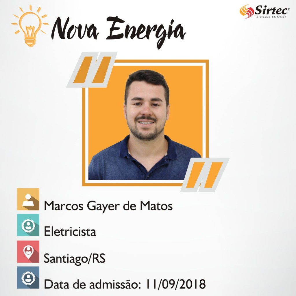 Nova Energia - Marcos