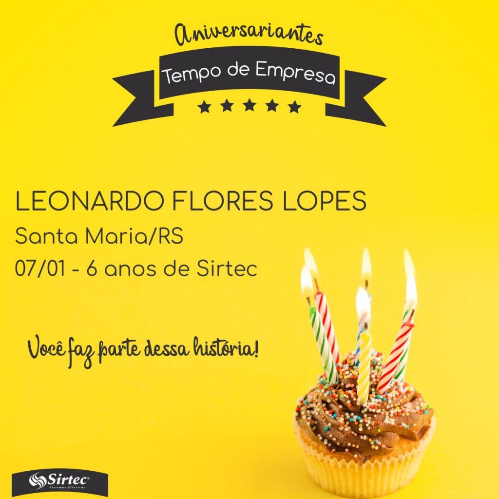 LEONARDO FLORES LOPES - SMA
