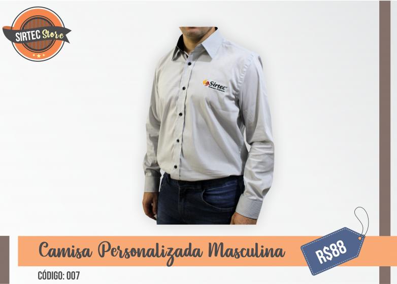 Camisa Personalizada Masculina